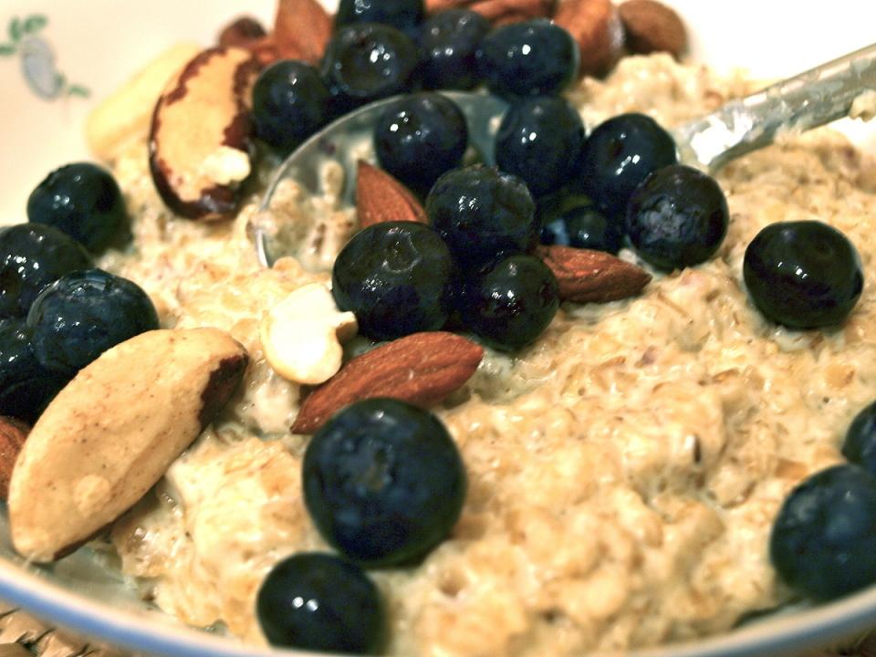 Poshing up porridge