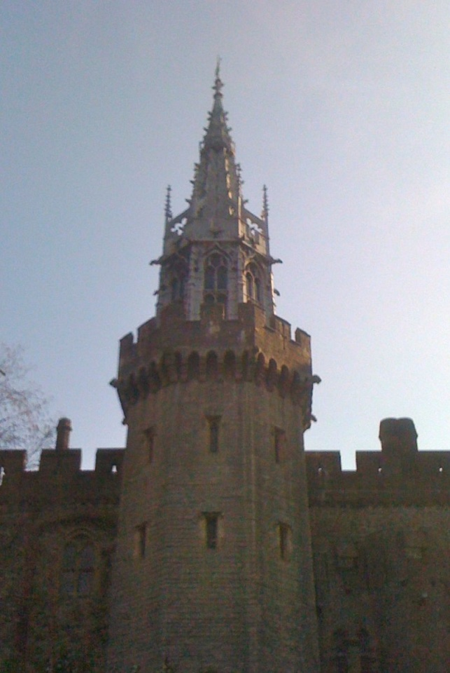 Cardiff spire