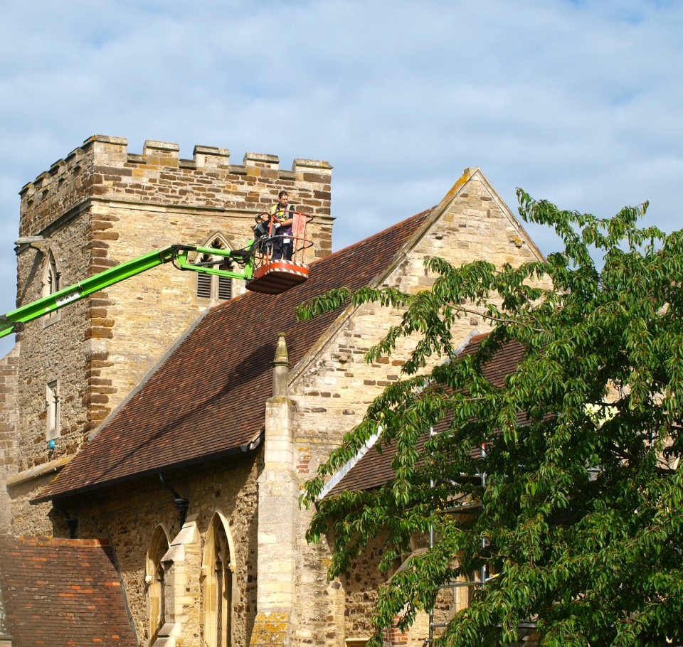 Mending the roof