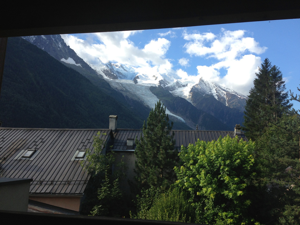 View from Chamonix