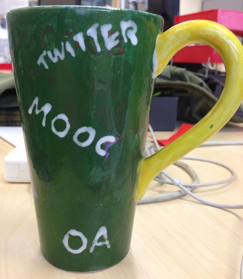 An edtech mug