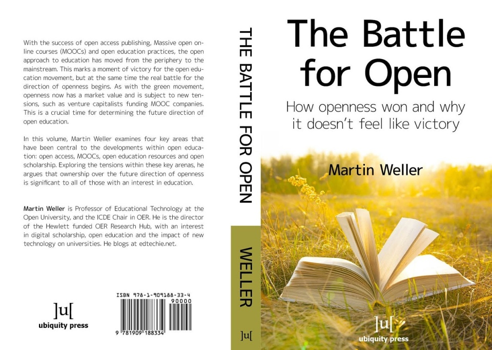 Battle for Open book cover