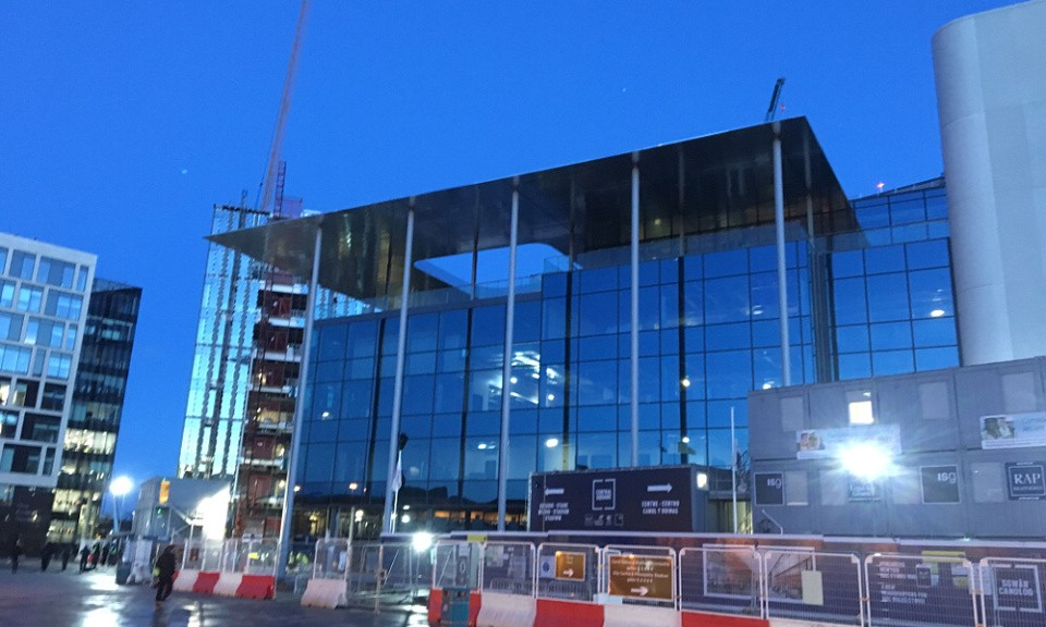 Cardiff station redevelopment